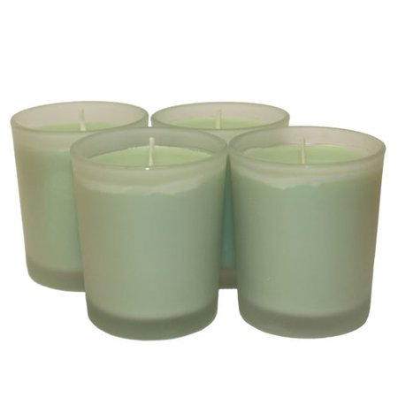 Cove House Candle Co Cucumber Melon Votive Candle Set (Set of 4)