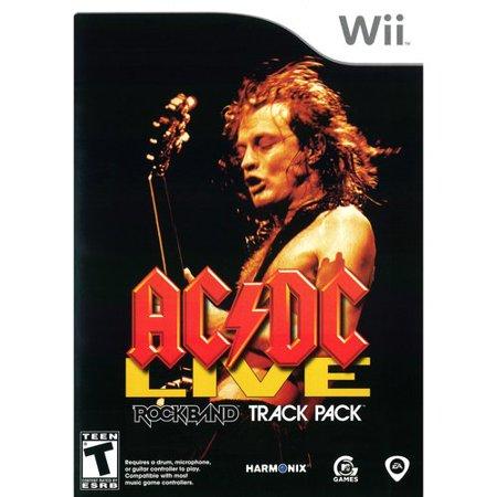 AC/DC Live Rockband Track Pack (Wii) (50 Best Wii Games)