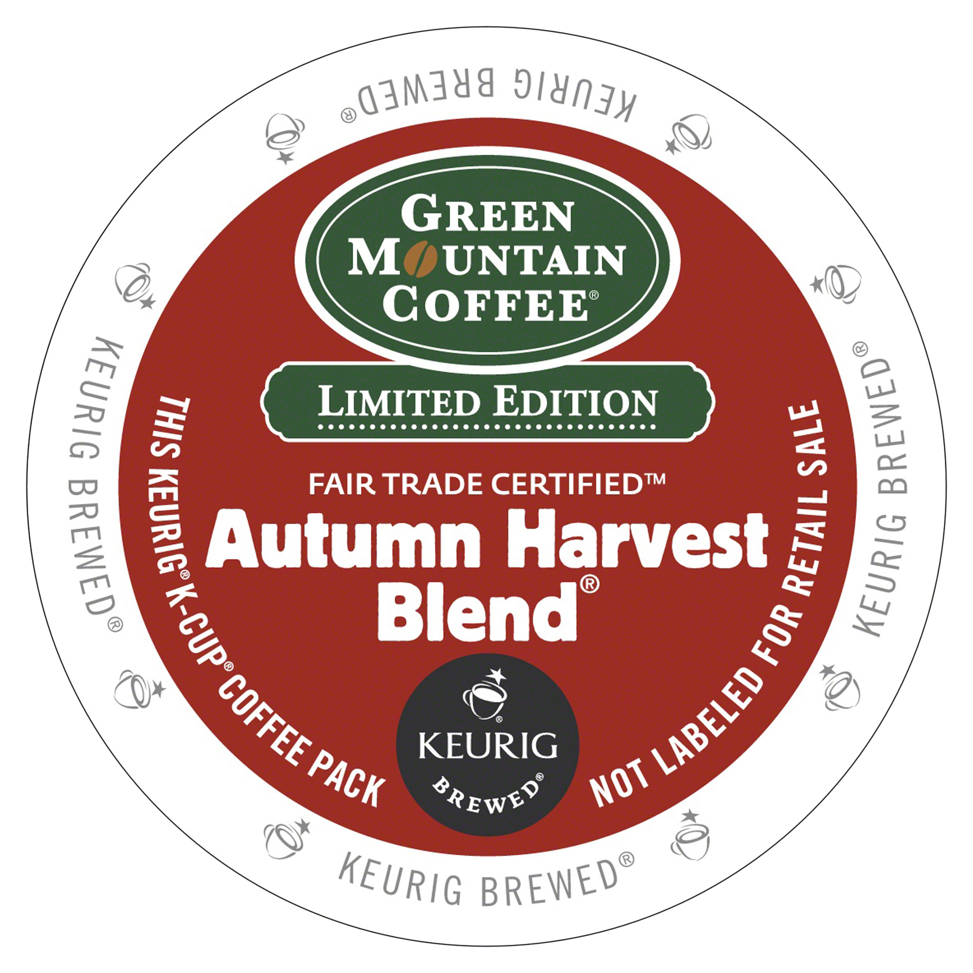 Green Mountain Coffee Autumn Harvest, K-Cup Portion Pack for Keurig Brewers
