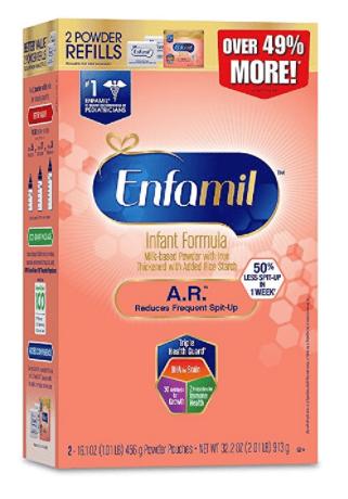 Enfamil A.R. Infant Formula for Spit Up, Powder, 32.2 Ounce Refill Box by Enfamil