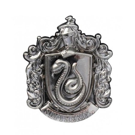 Slytherin School Crest Pewter Lapel Pin ()
