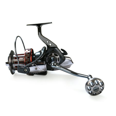 10+1BB Ball Bearings 4.7:1 Lightweight Spinning Fishing Reel Tackle Aluminum Spool Foldable Handle Reels Fishing Tackle 8000 9000 10000 12000 Series thumbnail