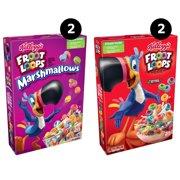 Kellogg's Froot Loops Breakfast Cereal, Variety Pack, 4 Ct