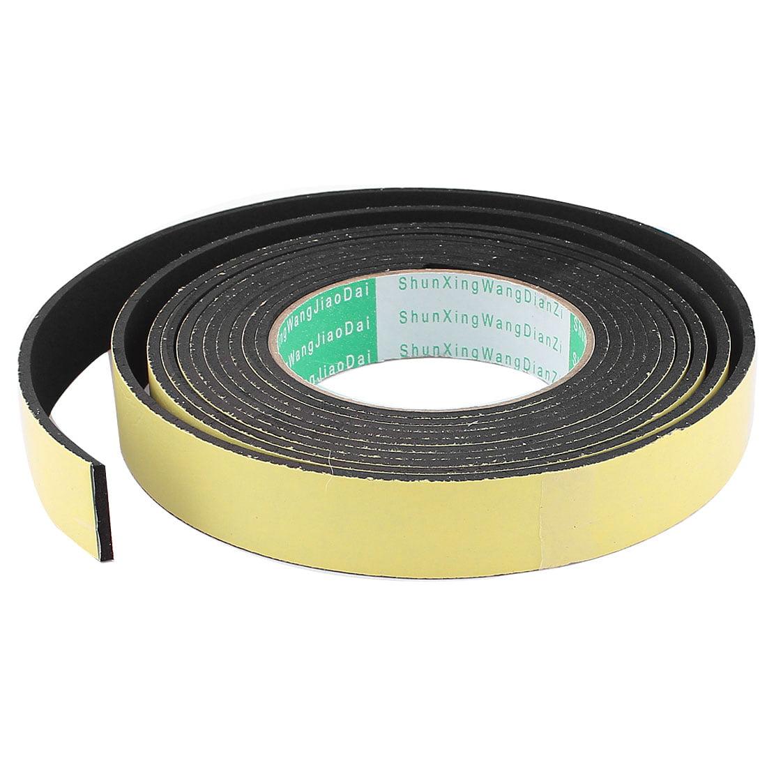 4M 50mm x 3mm Single Side Adhesive Foam Sealing Tape for Door Window