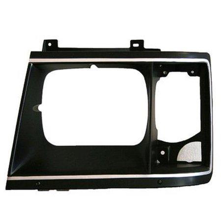 Right Headlamp Door for Box Truck, G20, P30, Van, GMC P2500, P3500 GM2513124 (Van Headlight Door)