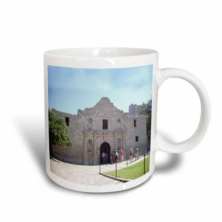 3dRose Alamo Mission in San Antonio, Texas, Textured Photo, Ceramic Mug, 11-ounce](Jack In The Box San Antonio)