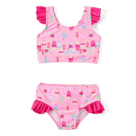 Freestyle Revolution Ruffle Bikini Swimsuit (Baby Girls & Toddler Girls)