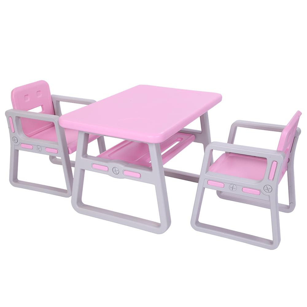 Barbie accessories table 2 chairs vacuum tableware habit foods...