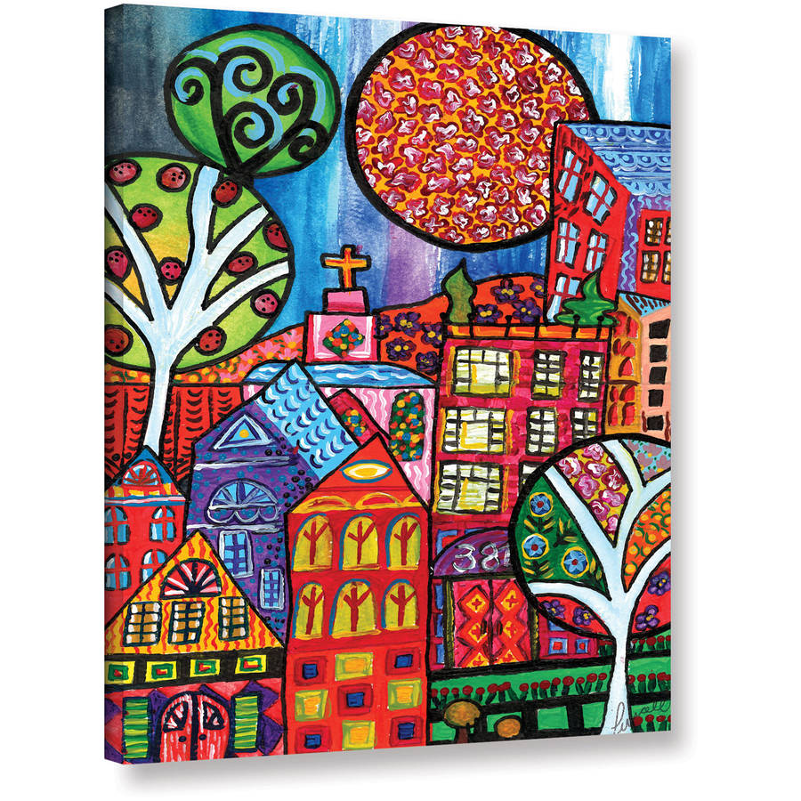 "Debra Purcell ""Downtown Living"" Gallery-Wrapped Canvas"