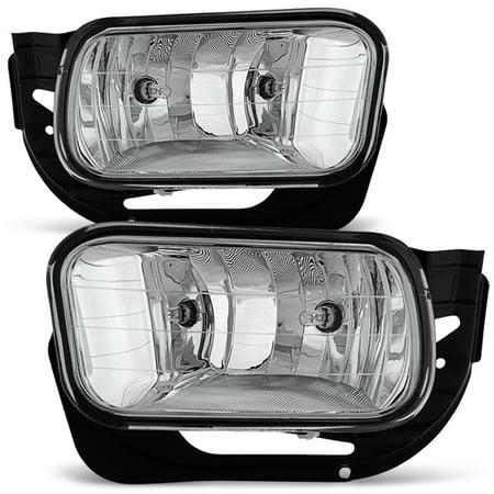 Fits 09-12 Dodge Ram 1500/ 2010-2018 2500 3500 Bumper Fog Lights (2007 Dodge Ram 1500 Fog Light Bulb)