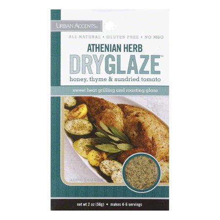 2 Ounce Free Herb - Urban Accents Athenian Herb Dryglaze Seasoning, 2 OZ (Pack of 6)