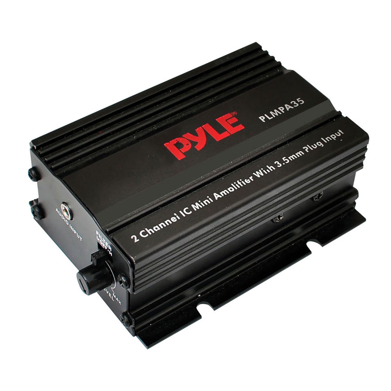 Pyle 2 Channel 300 Watt Mini Amplifier w/3.5mm Input