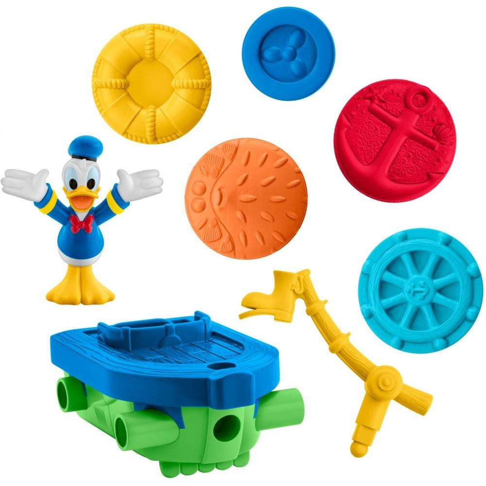 Disney Mickey Mouse Clubhouse Mouska-Maker Donald 2-in-1 Vehicle Set