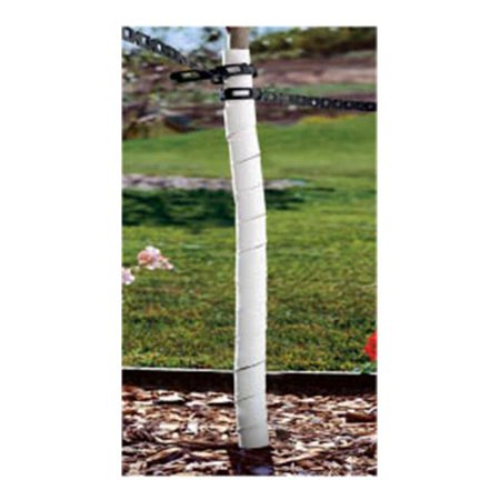Master Mark Plastics 62526 24 in. Spiral Tree Guard with Holes 2-2 Pack