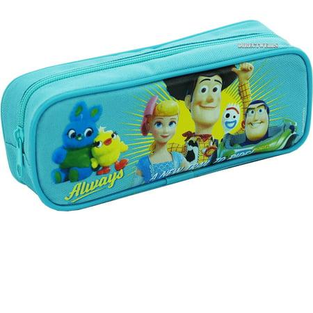 Toys Story 4 Light Blue Pencil Case