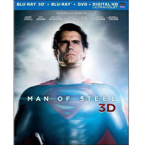 Man Of Steel (3D Blu-ray   Blu-ray   DVD   Digital HD) (With Ultraviolet) (With INSTAWATCH)