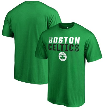 Boston Celtics Fanatics Branded Fade Out T-Shirt - Kelly Green