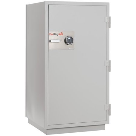 Fireking Fireproof Dm4420 3 Office Industrial Platinum Finish Ul Class 125 Three Hour Data Fire Proof Safe 7 9 Cu Ft Capacity With Electronic Keylock