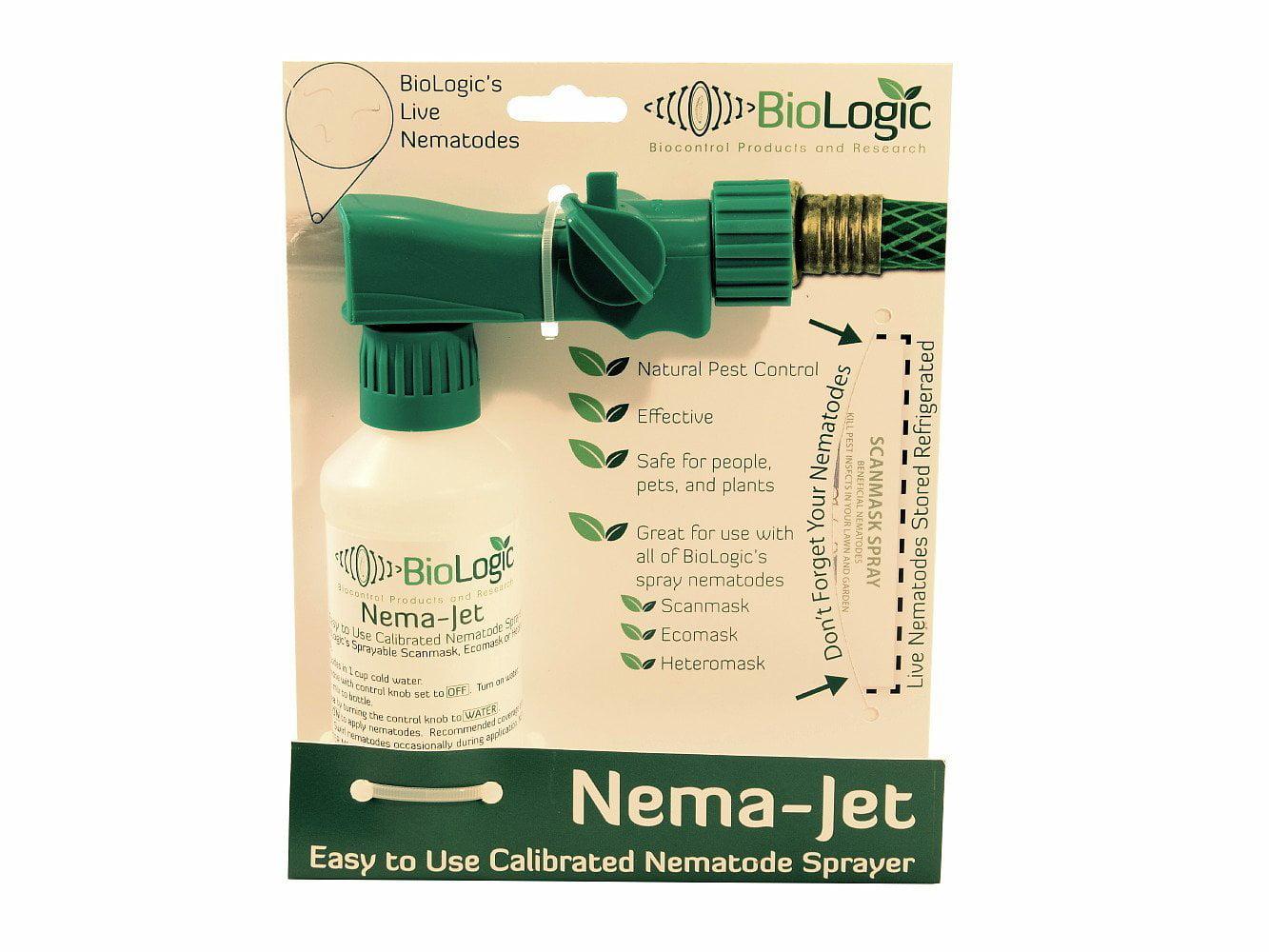 Nema-Jet Nematode Sprayer Easy to Use Use with Biologic Easy Spray Nematodes by Sprayers