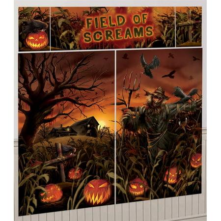 Field of Screams Scene Setter Decoration Kit - Gotham City Scene Setter