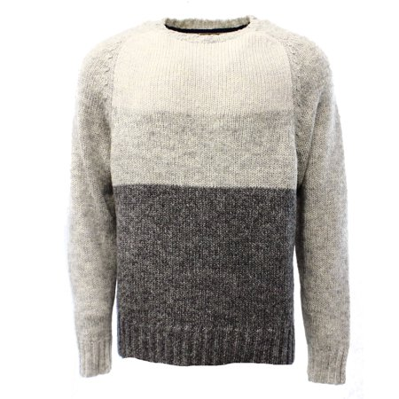 - Club Room Mens Colorblock Crew-Neck Knit Sweater