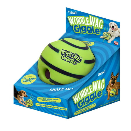 Giggle Ball Dog Toy (Wobble Wag Giggle Ball Dog Toy As Seen On TV)