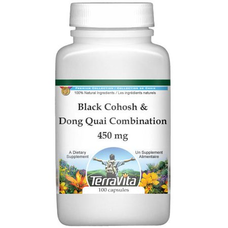 Black Cohosh and Dong Quai Combination - 450 mg (100 capsules, ZIN: 513391)