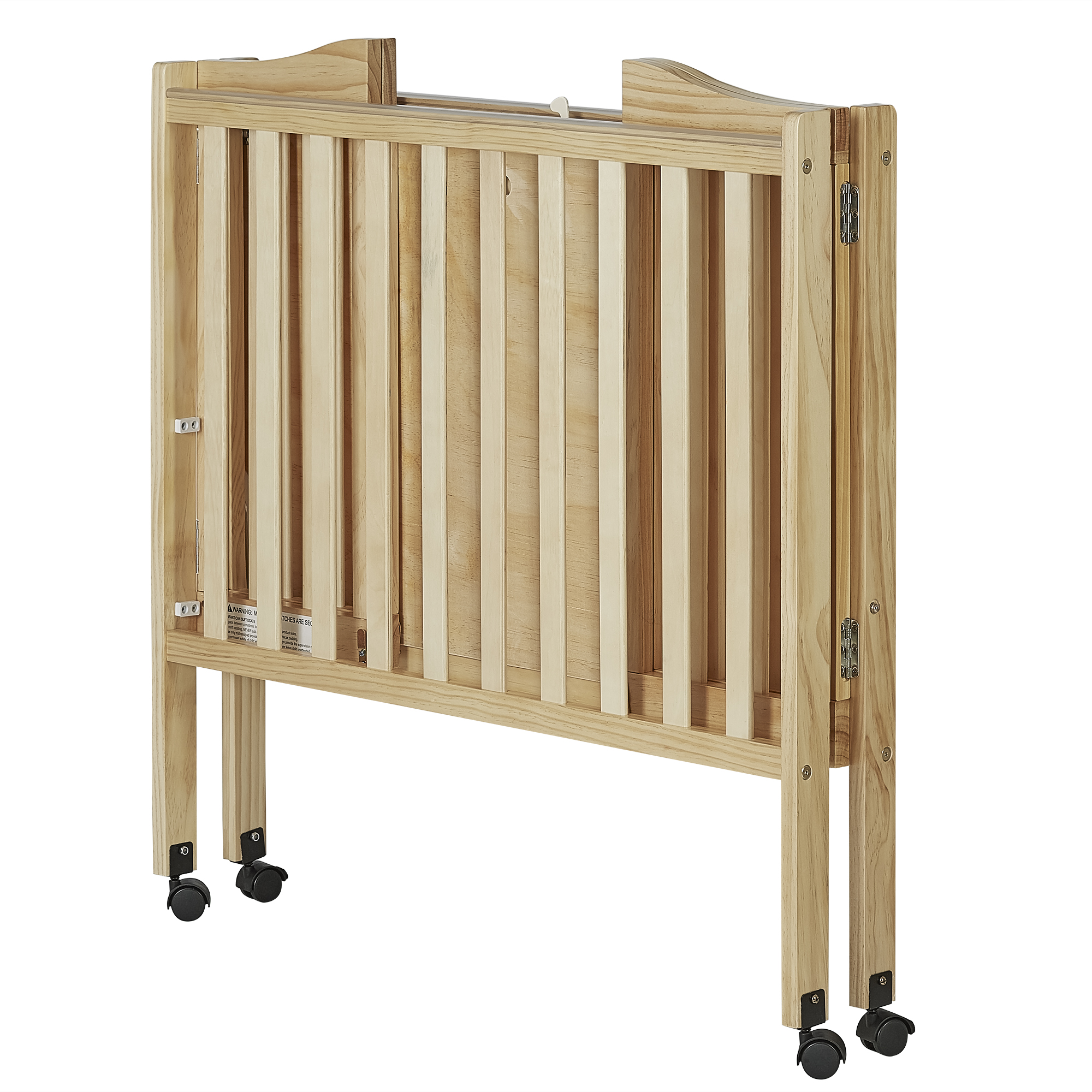 Superb Dream On Me 2 In 1 Lightweight Portable Folding Crib Natural Image 4 Of