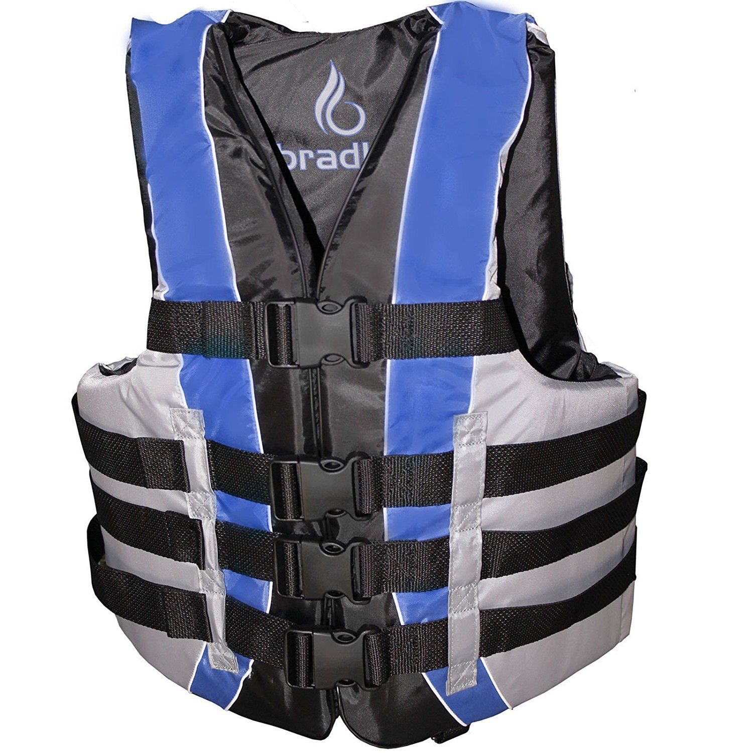 Click here to buy Bradley Fully Enclosed Deluxe 4-Buckle Adult Life Jacket Vest by Bradley.