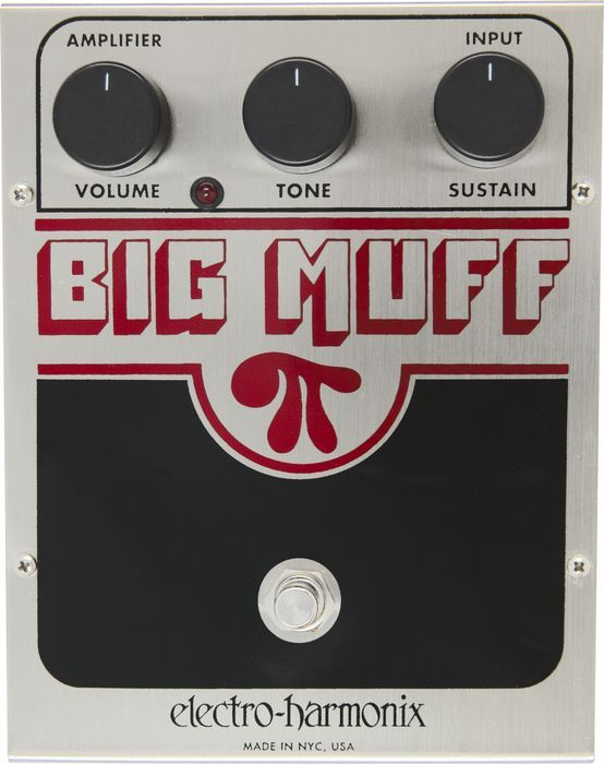 Electro Harmonix Big Muff Pi Distortion Pedal (Made In NYC) by Generic