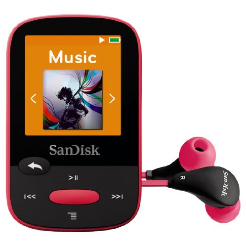 Clip Sport MP3 Player 8G Pink