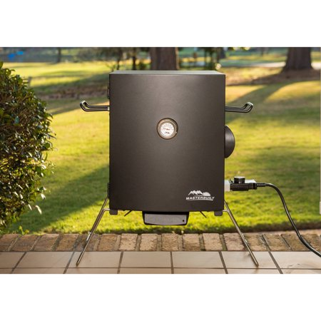 Masterbuilt Portable Electric Smoker, Black
