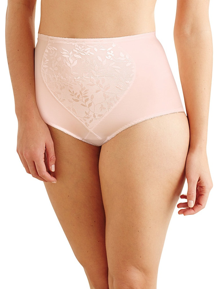 Women's Bali X710 Firm Control Tummy Panel Brief Panty - 2 Pack