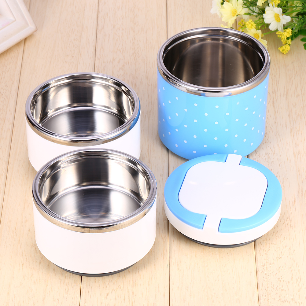 Details about  /Food Container Vacuum Insulated Heat Preservation Stainless Steel Lunch Box