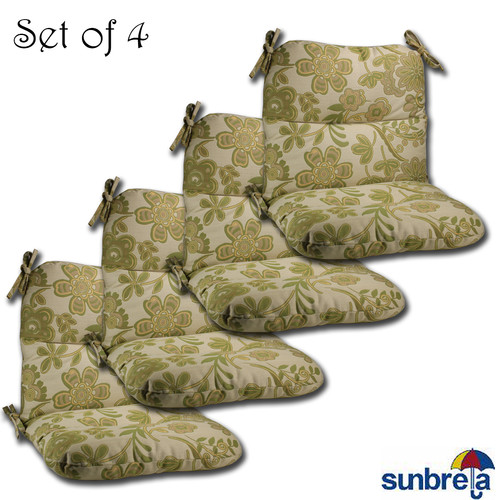 Comfort Classics Inc. Outdoor Sunbrella Lounge Chair Cushion (Set of 4)