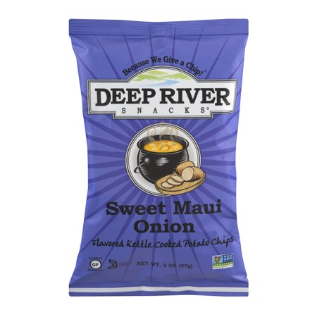 Deep River Snacks Kettle Cooked Potato Chips Sweet Maui