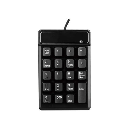 USB 19 keys Numeric Number Keypad Keyboard For Laptop