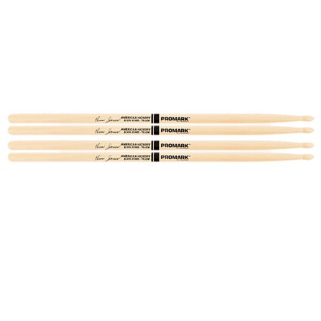 2 PACK ProMark Elvin Jones Jazz Wood Tip Hickory Drumsticks TXJZW-2