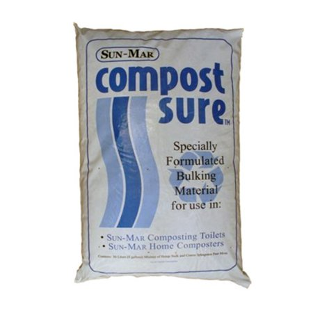 Sun-Mar CompostSure Composting Accelerator for Low Flush Systems - 5 Bags