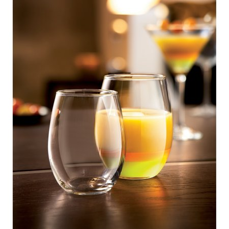 Luminarc  Cachet Stemless Wine Glass Party Pack - Wine Glass Party