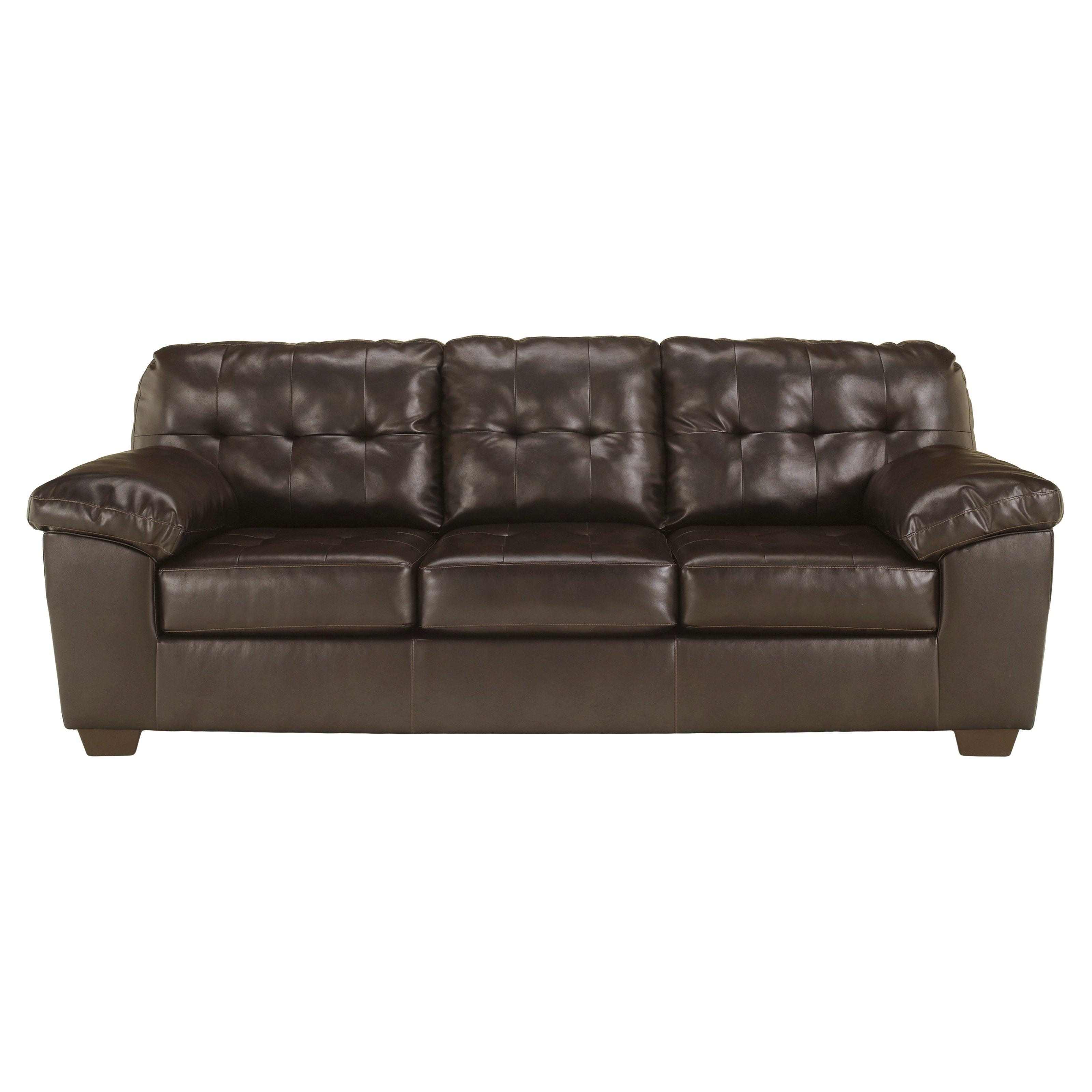 Signature Design by Ashley Alliston Leather Sofa