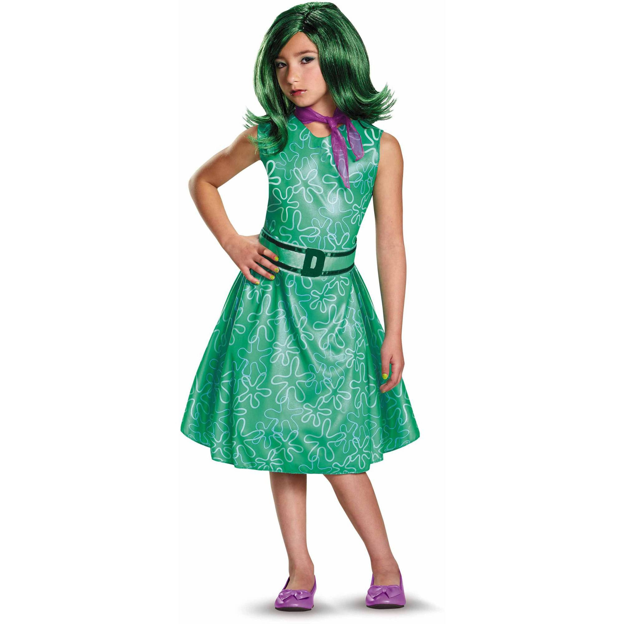 Inside Out Disgust Classic Child Halloween Costume