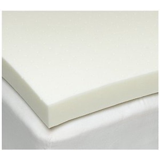 Twin Xl 4 Inch Isocore 30 Memory Foam Mattress Topper With Zippered