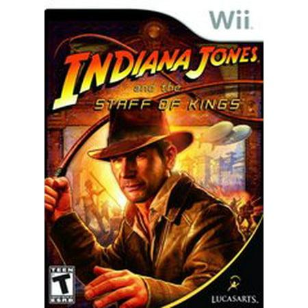 Staff Wii - Indiana Jones and the Staff of Kings - Nintendo Wii (Refurbished)