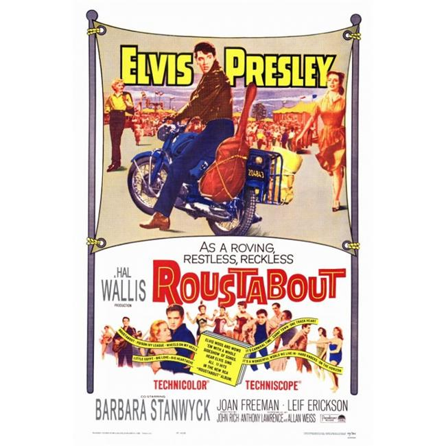 Posterazzi MOVAF6188 Roustabout Movie Poster - 27 x 40 in. - image 1 of 1