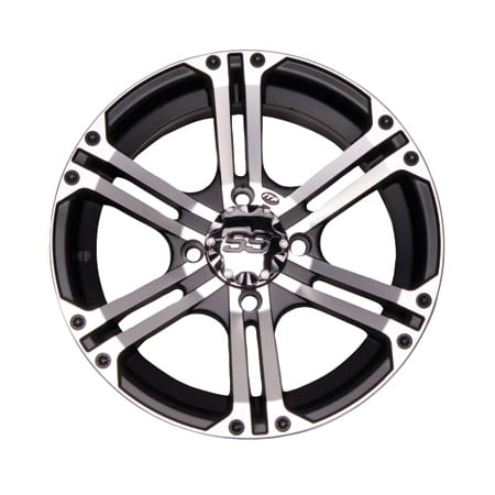 Skyhawk Series (4/110 ITP SS212 Alloy Series Wheel 12x7 2.0 + 5.0 Machined for Kasea SKYHAWK 250 2003)