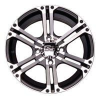 4/137_12mm ITP SS212 Alloy Series Wheel 14x6 4.0 + 2.0 Machined for Can-Am Maverick X3 Turbo R 2017-2018
