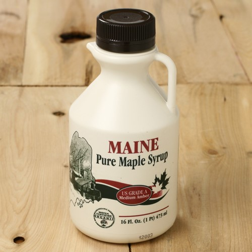 Organic Pure Maine Maple Syrup by Maine Maple Products