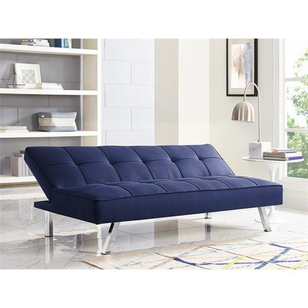 Terrific Lifestyle Solutions Serta Carson Tufted Sleeper Sofa In Navy Home Interior And Landscaping Dextoversignezvosmurscom