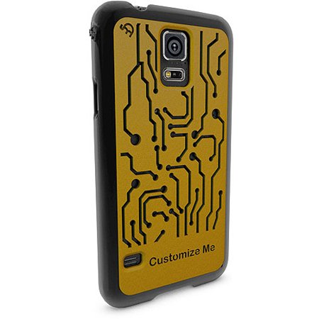Samsung Galaxy S5 3D Printed Custom Phone Case - Circuit Basic Design